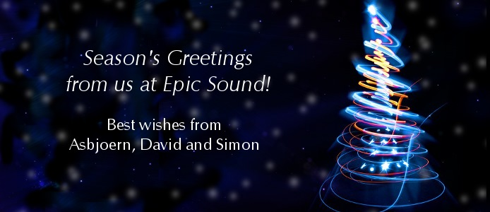 Happy Holidays from Epic Sound